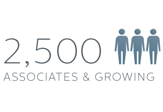 2,500 Associates and Growing